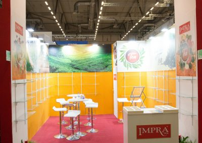 Impra Tea Messestand