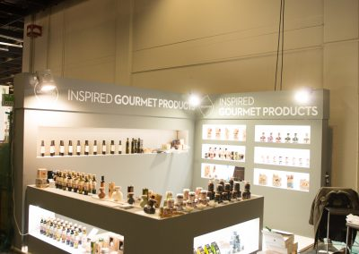 Messestand Gourmet Products
