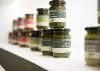Pesto Messestand Gourmet Products
